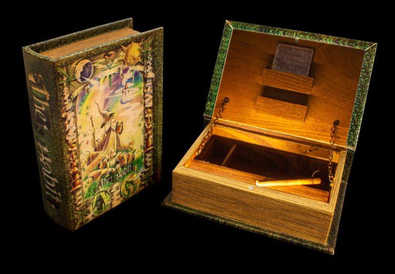 """Mini Joint Buch Box """"The Habit"""""""