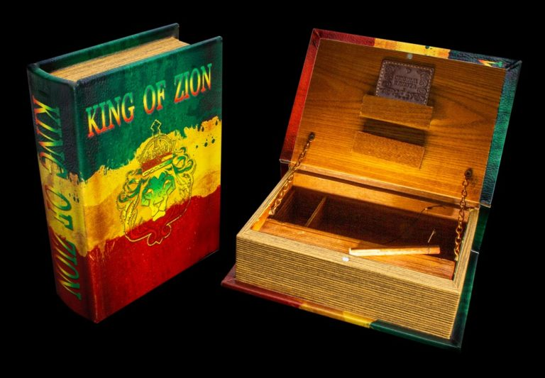"""Mini Joint Buch Box """"King of Zion"""""""