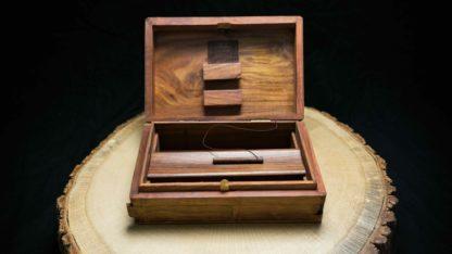Box, Holzbox, Just Roll With It, Kavatza, Kavatza Box, Original Kavatza, Rolling Box, Tobacco Dressed In Leather, Unique Smoking Equipment, Wooden Box