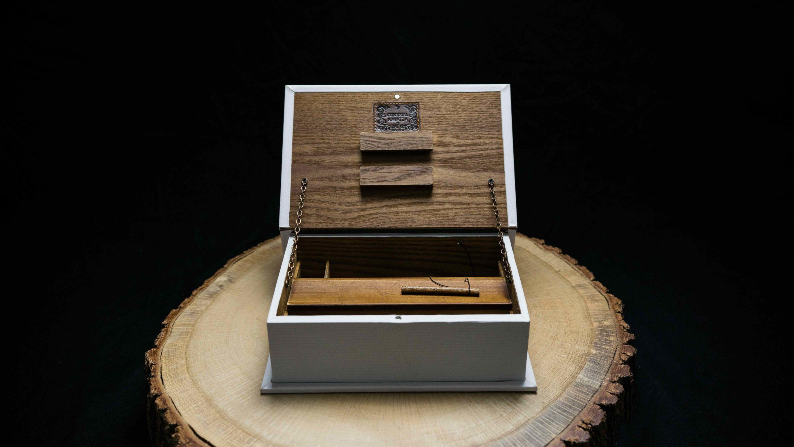 Book Box | Buch Box | Mr. Nice | Open | Offen