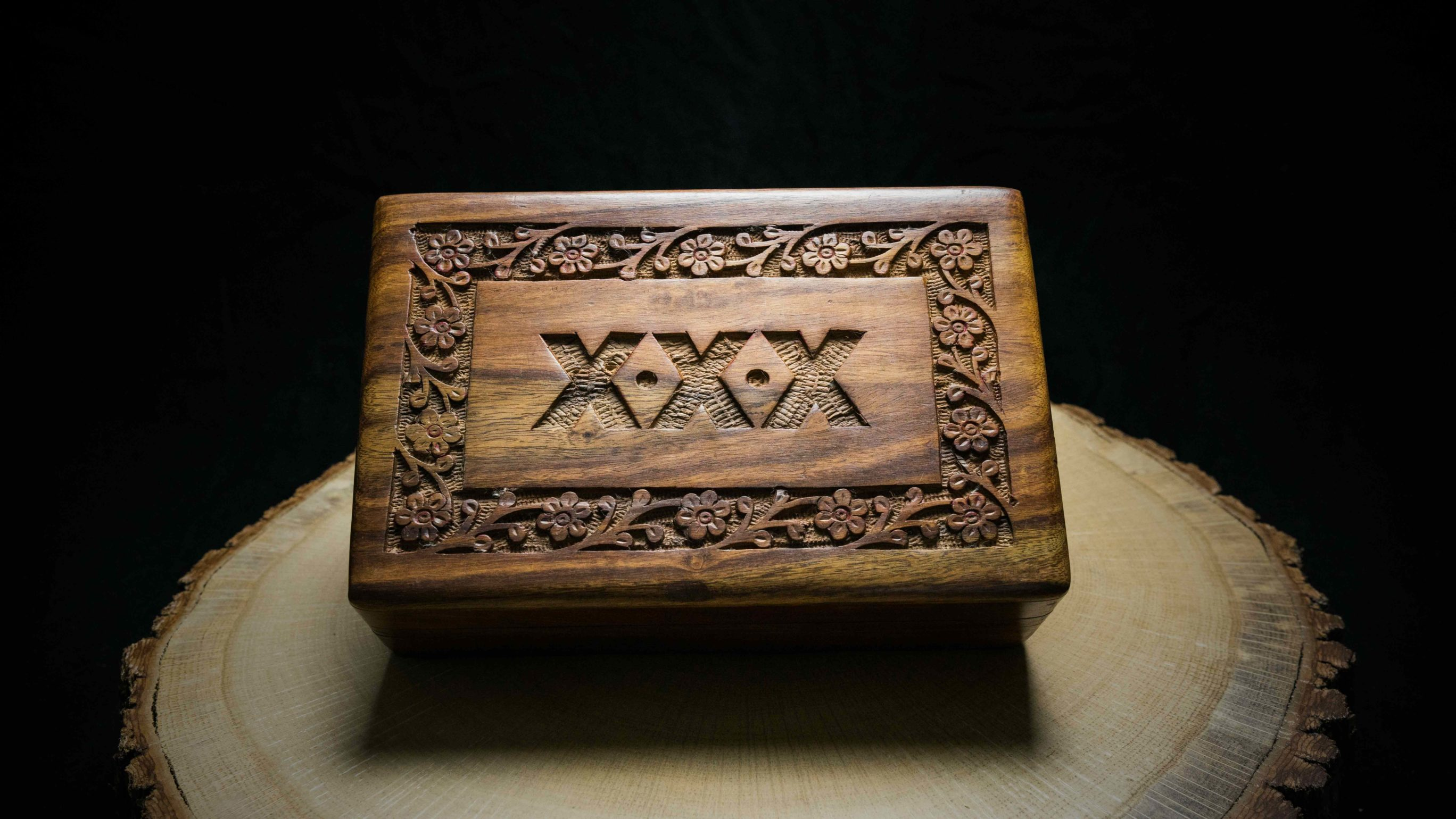 "Wooden Box ""Amsterdam"""