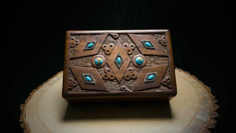 "Joint Holz Box ""Steine"""