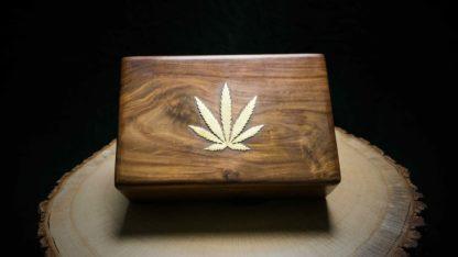 """Joint Holz Box """"Blatt"""""""