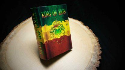 King of Zion, Book Box, Buch Box, Mini Box, ,Bong Buch, Bong Book, Original Kavatza, Kavatza, Unique Smoking Equipment, just roll with it
