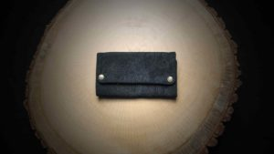 "TP14 Tobacco Pouch ""Suede Ethnic"""