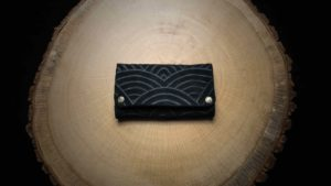 "TP27 Tobacco Pouch ""Black Rainbow"""
