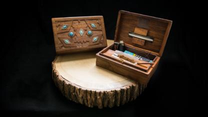 WB02 Wooden Boxe 'Stone'