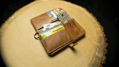"TWL03 Tobacco Wallet (L) ""Tabba"""