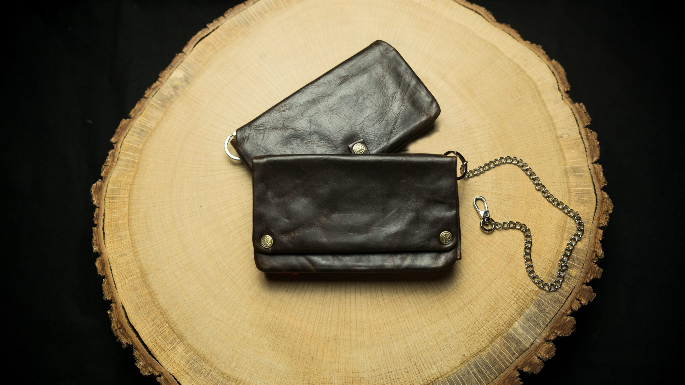 "TWL17 Tobacco Wallet (L) ""Havana"""