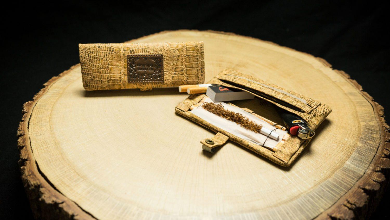 "MPC32 Mini Joint Rolling Pouch ""Cork-Odile"""