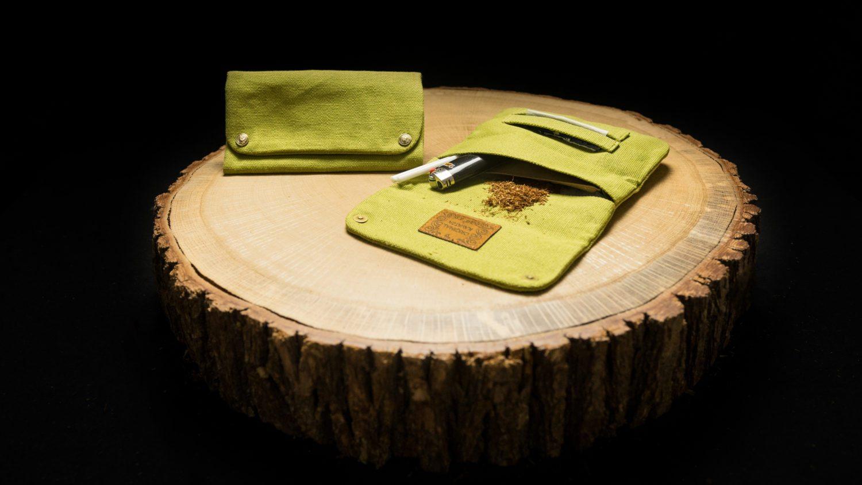 "TPH35 Hemp Tobacco Pouch ""Lime Green"""