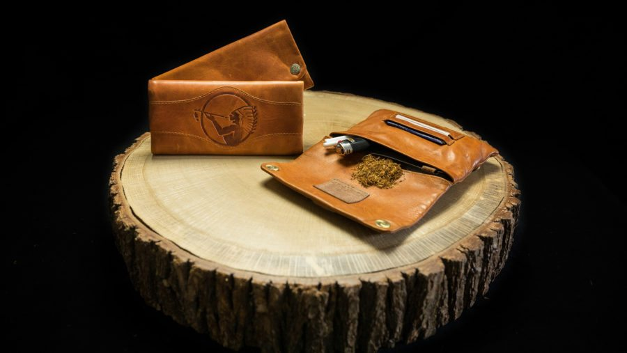 "Tobacco Pouch ""Natural American Spirit"""