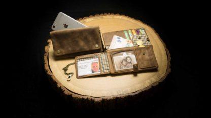 "TWL05RO | Tobacco Wallet (L) ""Buckaroo Deluxe"" | 4260419121017"
