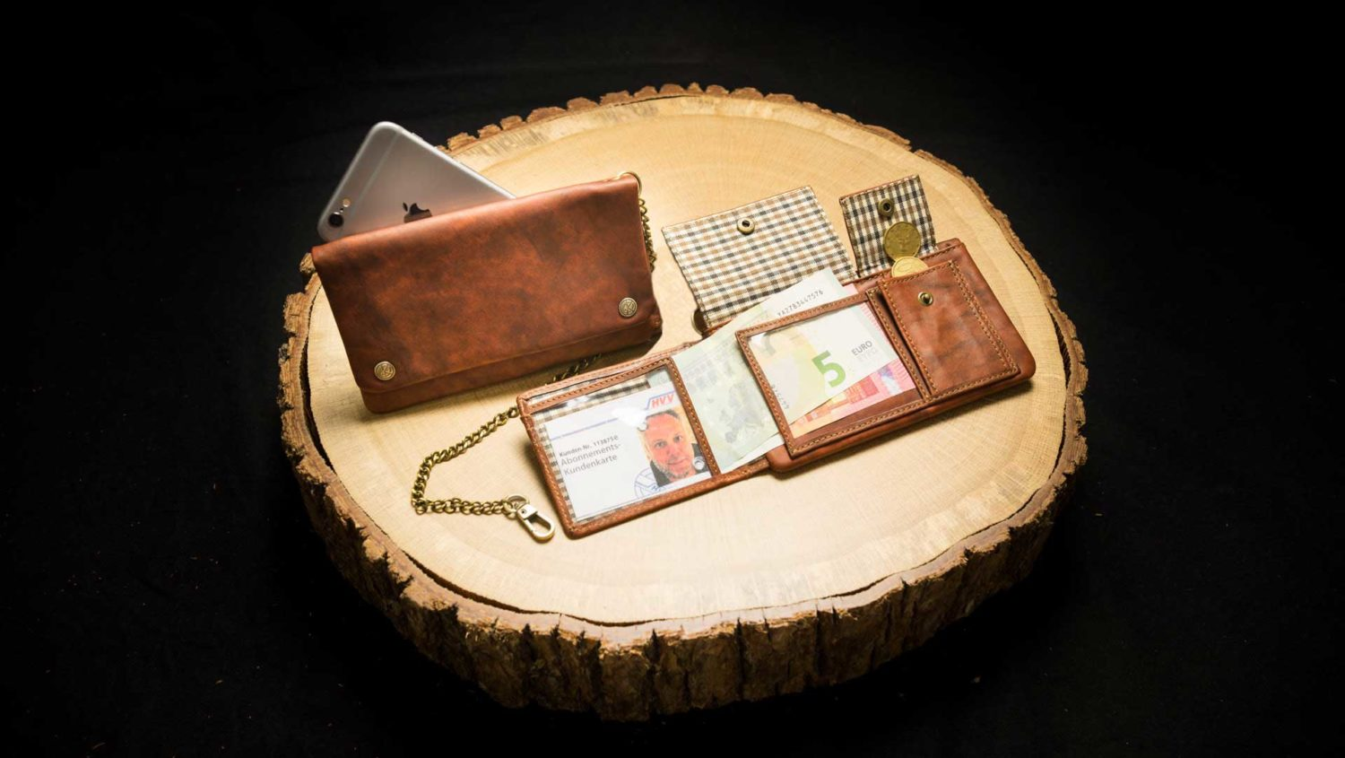 "TWS17RO | Tobacco Wallet (S) ""Havana Deluxe"" 