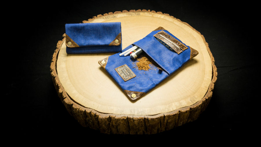 """TPJ37 - Tobacco Pouch """"Indigo Jeans"""" - 4260419121277"""
