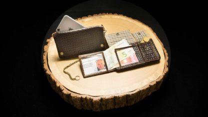 """TWS22   Tobacco Wallet (S) """"Woven Havana""""   4260419121321"""