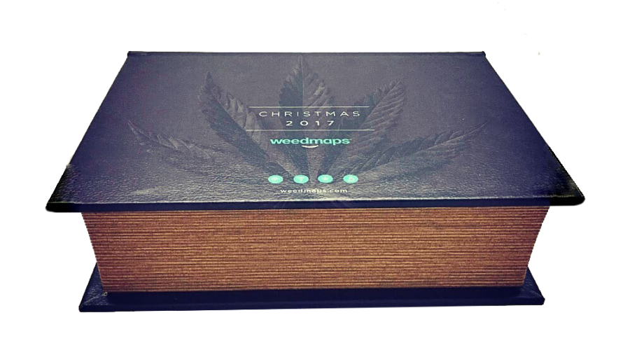 """B06 Book Box """"Weedmaps"""" 