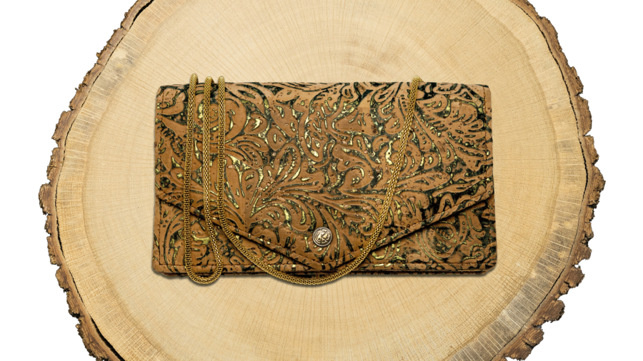 MJC31 - Mary Jane Clutch 'Atlantia' (Cork) - EAN: 4260419121154