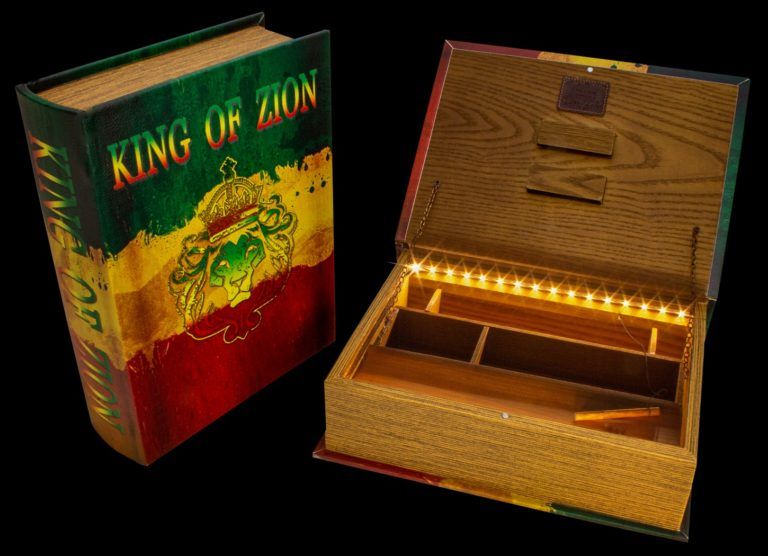"""Große Joint Buch Box """"King of Zion"""""""